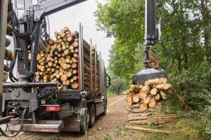 Zakuwanie przewodów do maszyn leśnych